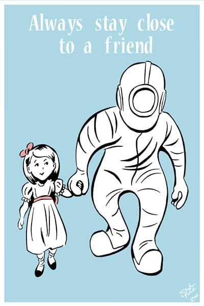 Fan-made Bioshock Posters