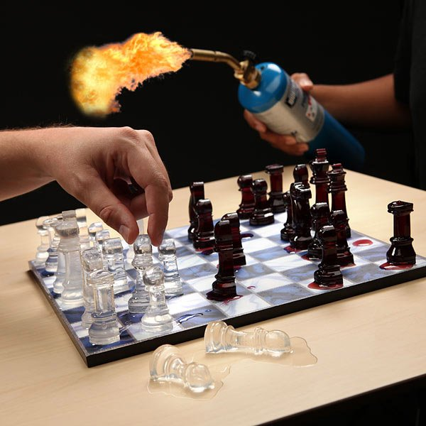 Ice Speed Chess Molds