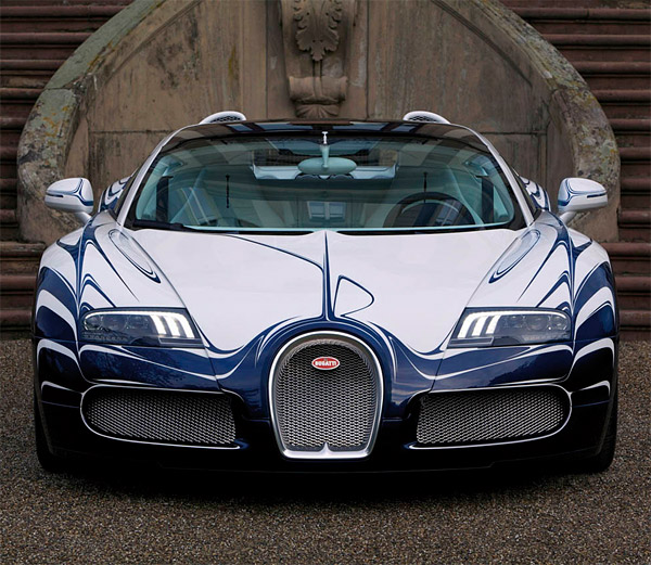 Bugatti Chiron Grand Sport Roadster Rendering Looks Cool: Veyron Grand Sport L'Or Blanc