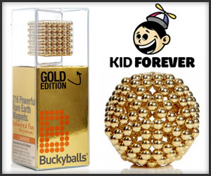 Giveaway: Gold BuckyBalls