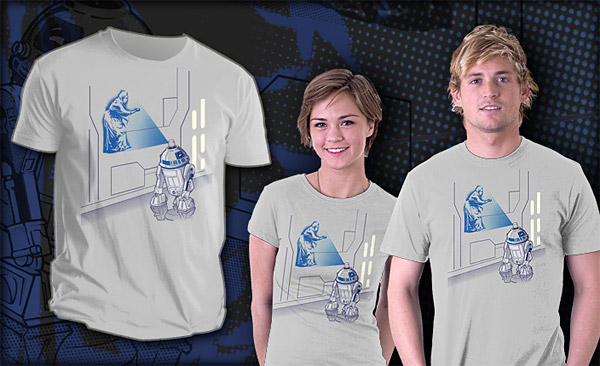 Graffiti Droid T-Shirt