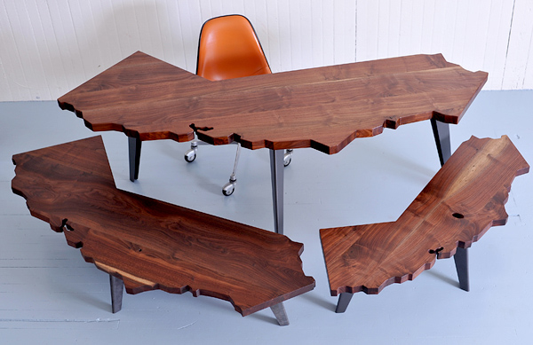 California Series Desks and Tables