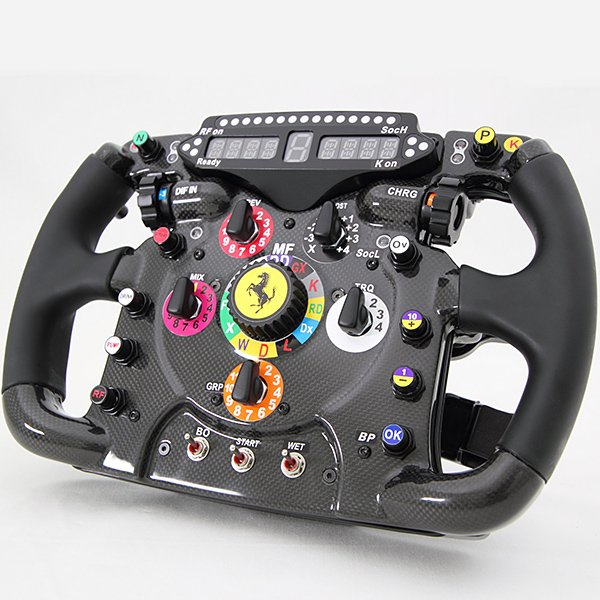 Ferrari F1 Steering Wheel Replica