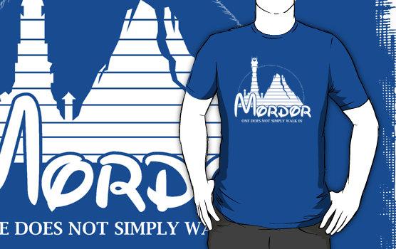 Mordor x Disneyland T-Shirt