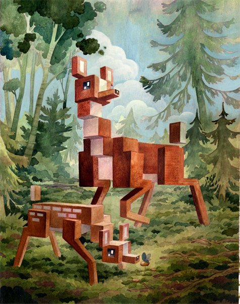 Pixel Animals