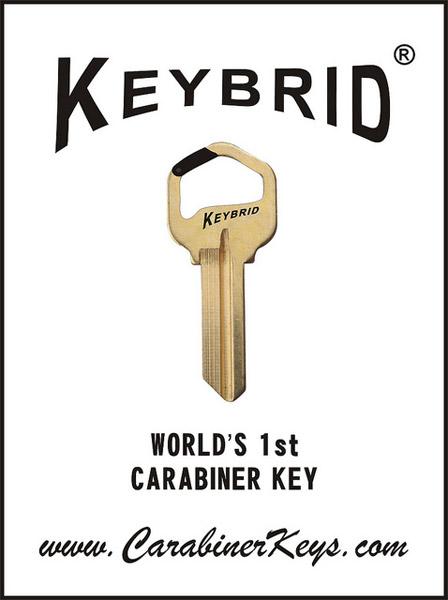 Keybrid Carabiner Key