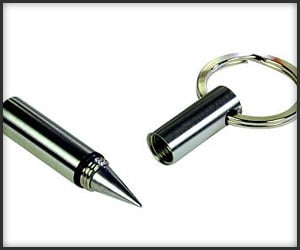 Metal Pen Key Ring