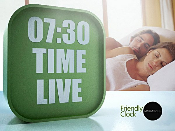 Friendly Clock