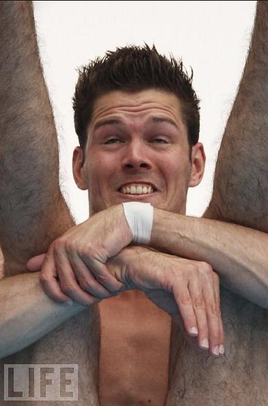 Divers' Faces