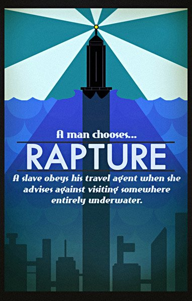 Video Game Travel Posters