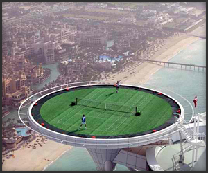 World's Highest Tennis Court