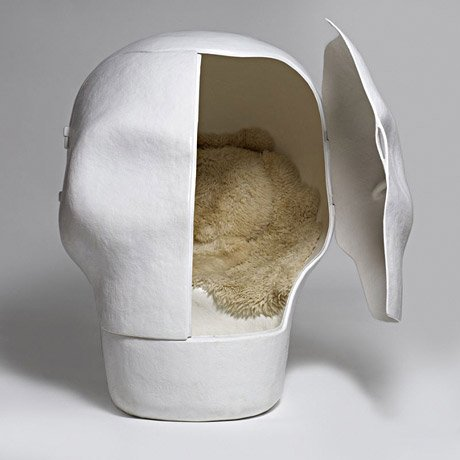 Sensory Deprivation Skull Chair