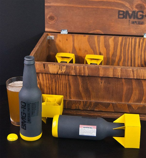 Black Market Goods Beer Bottles