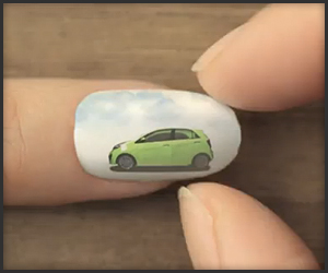 Kia Picanto Nail Animation