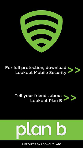 Plan B Android App