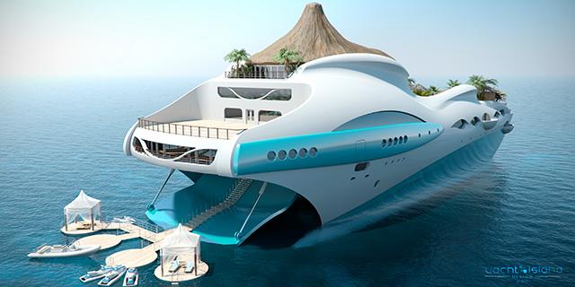 Yacht Island Designs