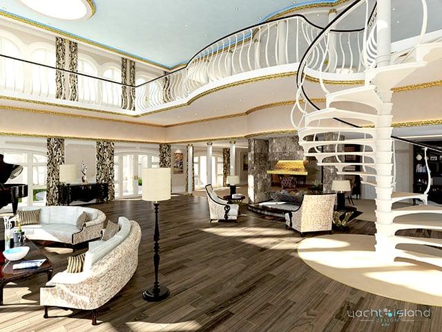 Yacht Island Design yacht island designs - the awesomer