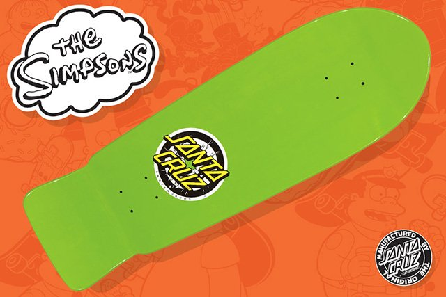 Santa Cruz Simpsons Skateboards
