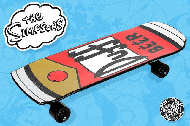 Santa Cruz Simpsons Skateboards