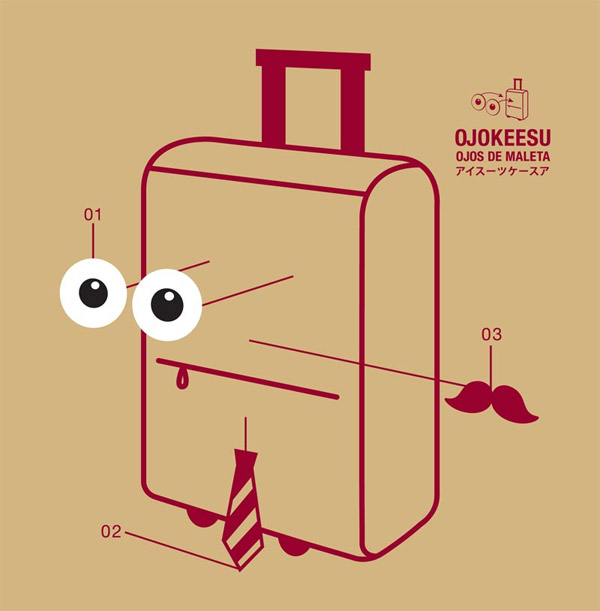 Suitcase Eyeballs