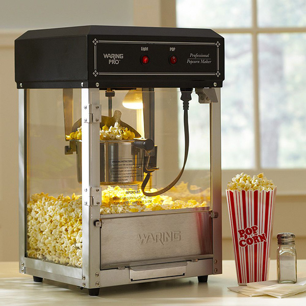Living Room Popcorn Machine