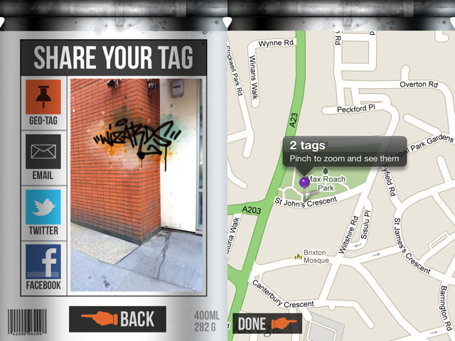 Street Tag iOS App
