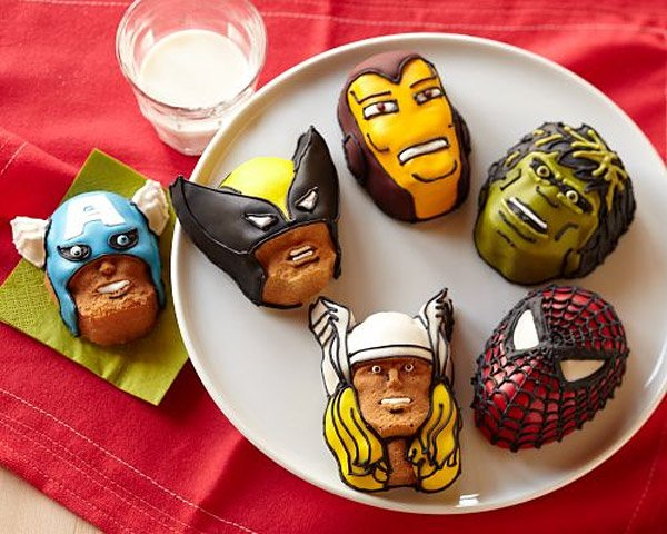 Avengers Cakelet Pan The Awesomer
