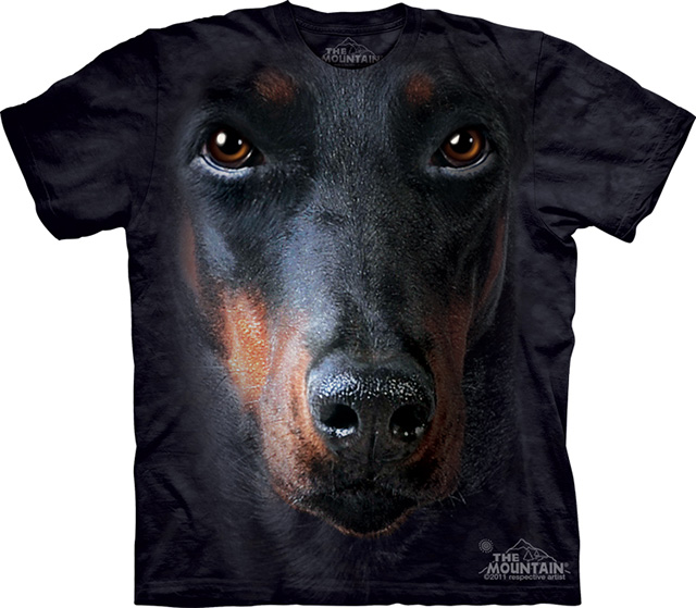 Big Face Animals T-Shirts