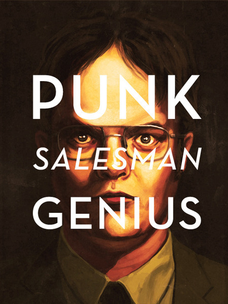 Punk Salesman Genius T-Shirt