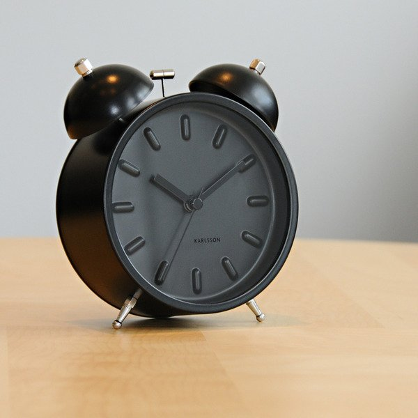 Karlsson Twin Bell Alarm Clock