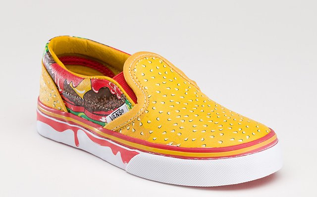 Vans Cheeseburger Slip-On