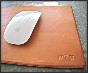 Leather Mousepads