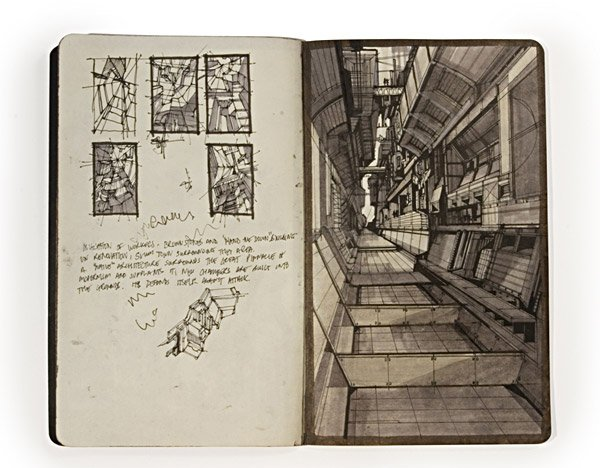 Architects' Sketchbooks