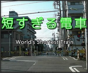 World's Shortest Train