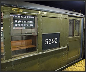 Boardwalk Empire Subway Train