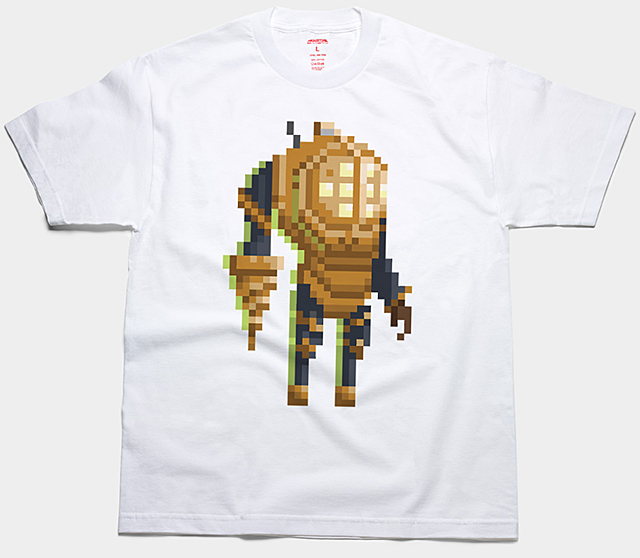 Pixel Game Characters Tees