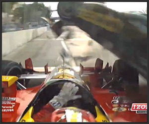 IndyCar Close Call