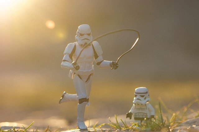 Stormtroopers Off Duty