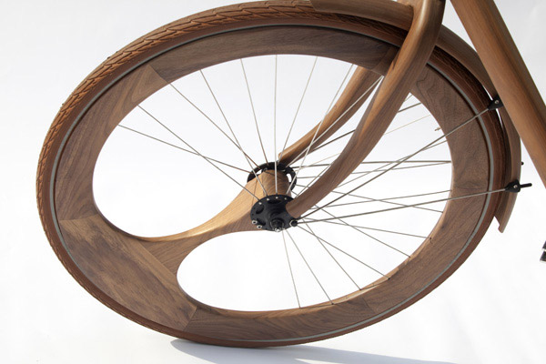 Wooden Bikes By Gunneweg
