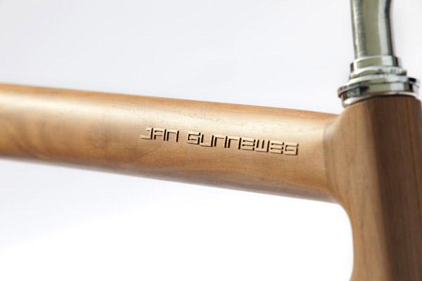 Wooden Bikes by Gunneweg