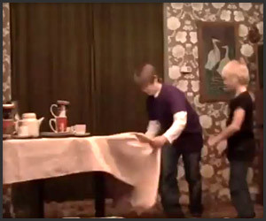 The Magical Tablecloth Trick