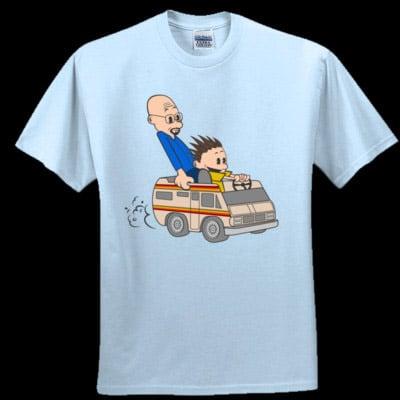 Jesse and Mr. White (T-Shirt)