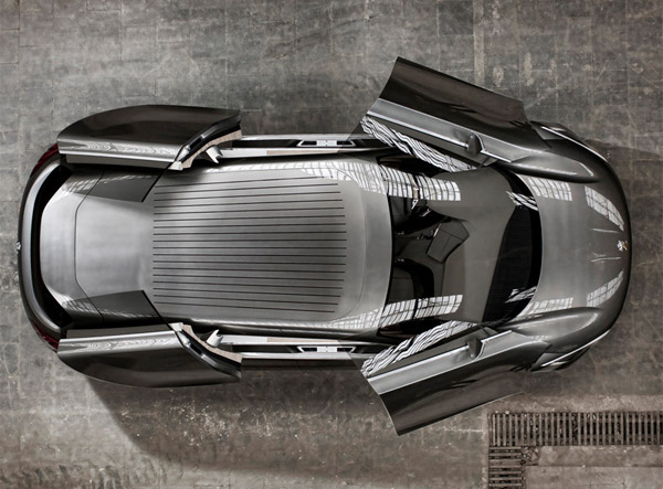 Peugeot HX1 Hybrid Concept