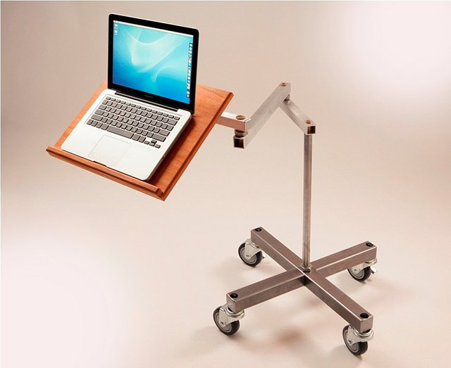 Cantilevered Laptop Desks