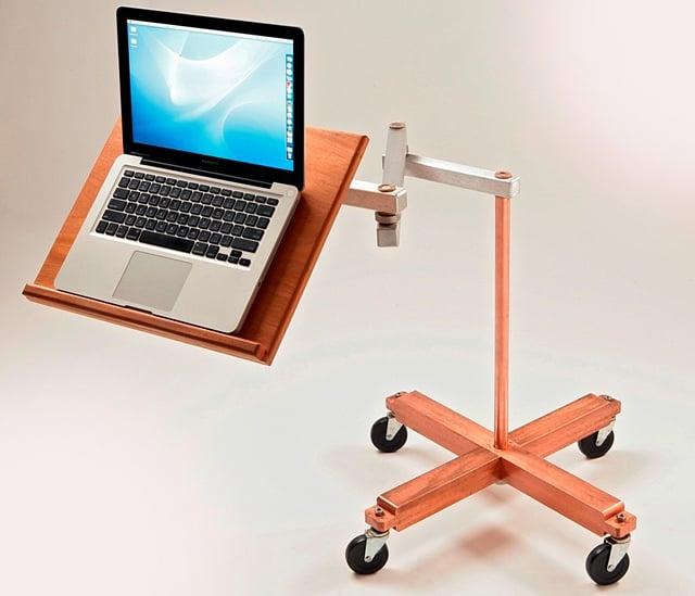 Cantilevered Laptop Desks