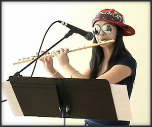 Fluteboxing Teen