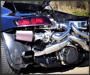 Audi R8 V10 Turbo Systems