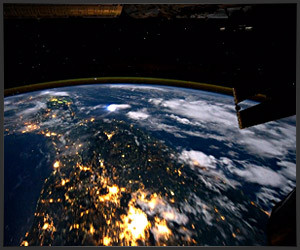 Orbiting Earth Time-Lapse