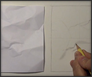 Drawing a Piece of Paper