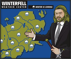 Winterfell Weather Forecast